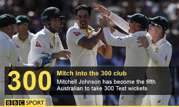 Mitchell Johnson stats graphic