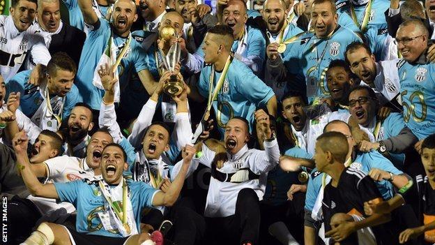 Entente Setif won the Champions League in 2014