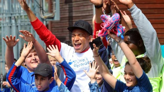 French international Kylian Mbappe donated his earnings from playing at the World Cup to charity