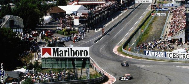 Senna and Mansell