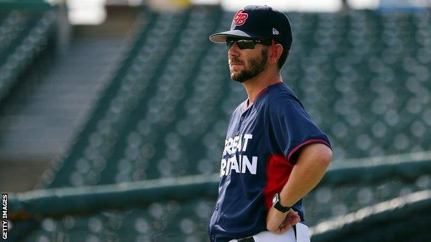 London Series 2019: New York Yankees v Boston Red Sox: Great Britain coach Liam Carroll