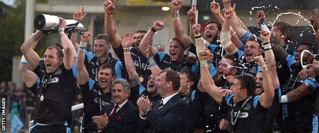Glasgow Warriors won the Pro12 last season