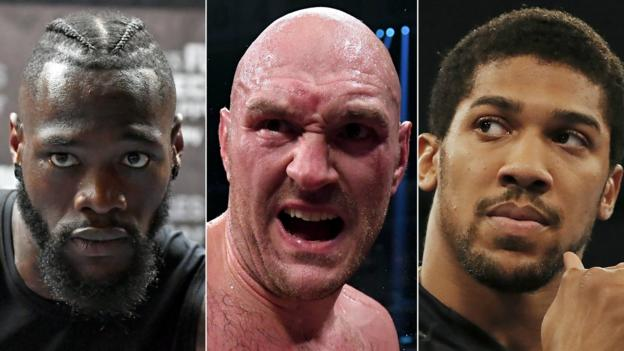 Anthony Joshua: Tyson Fury or Deontay Wilder bout still potentially two years away thumbnail