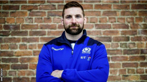 John Barclay will lead Scotland against Wales on Saturday