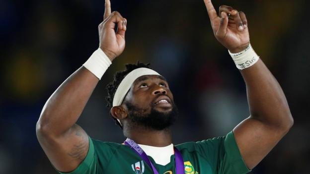 Image result for siya kolisi holding the world cup