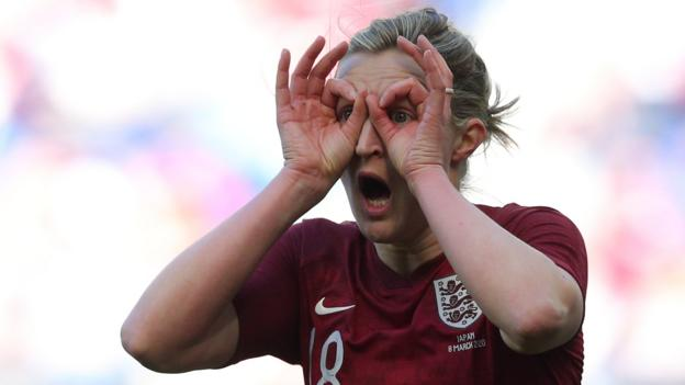 England 1-0 Japan: White gives Lionesses late SheBelieves Cup win thumbnail