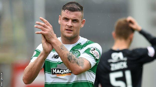 Celtic forward Anthony Stokes
