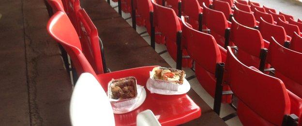 Could this mean the end of the famous award-winning Aggborough Pies?