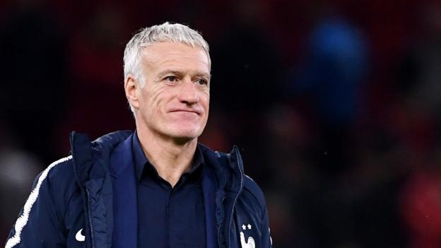 Didier Deschamps: France coach's contract extended to 2022 World Cup thumbnail