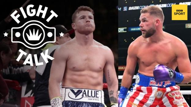 Saul 'Canelo' Alvarez and Billy Joe Saunders