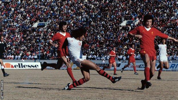 Liverpool lost 3-0 to Flemengo in the 1981 Intercontinental Cup