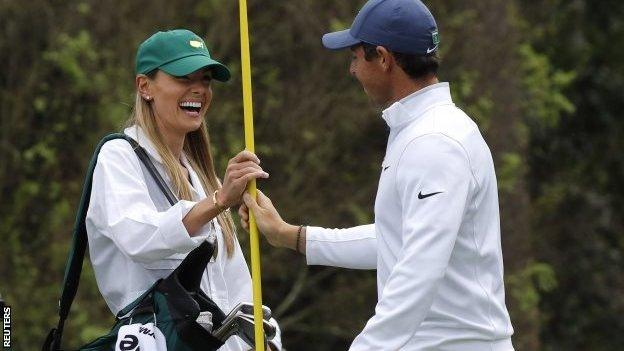 Rory McIlroy and wife Erica Stoll