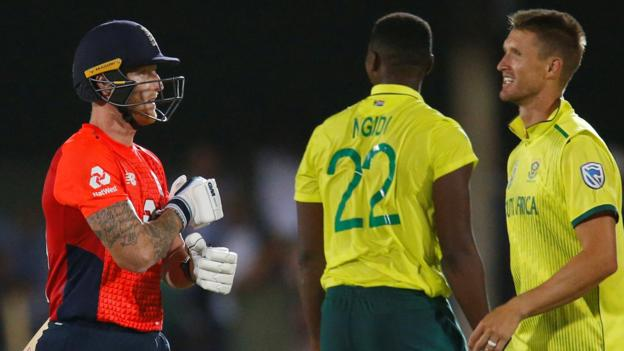 England in South Africa: Eoin Morgan says his team have 'lessons to learn' thumbnail
