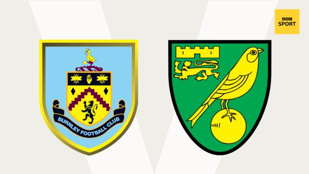 Burnley v Norwich