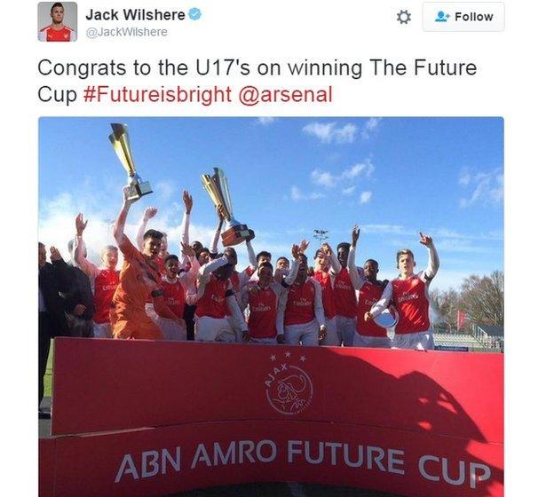 Arsenal under 17s