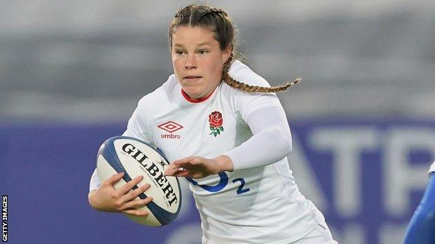 Harlequins and England winger Jess Breach