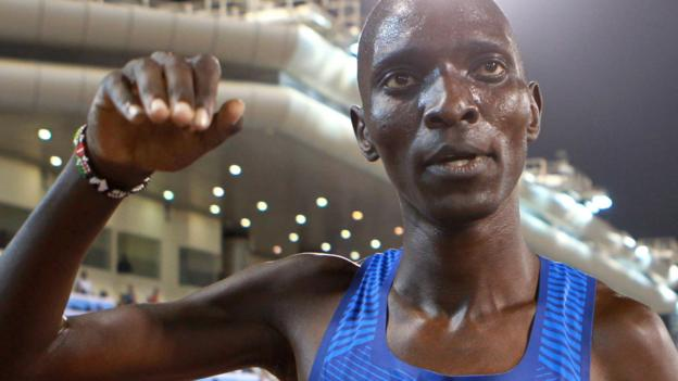 Ex-Olympic champion Kiprop gets doping ban