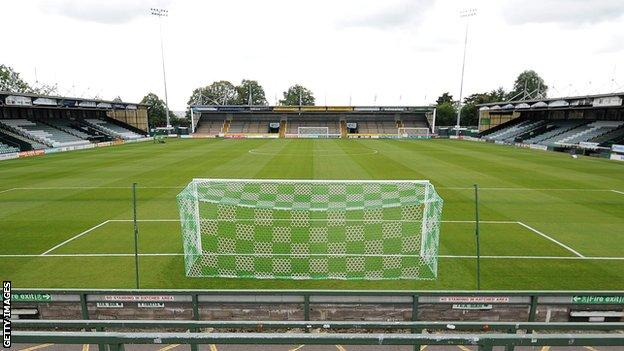 Yeovil Town's Huish Park