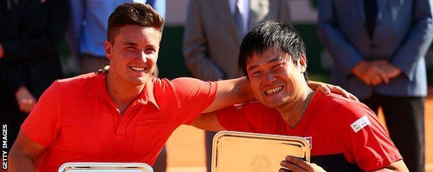 Reid captured his maiden Grand Slam title at the 2015 French Open alongside doubles partner Kunieda
