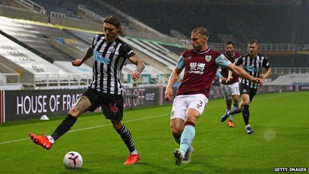 Newcastle host Burnley at St James' Park