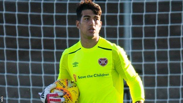 Kevin Silva has featured in three pre-season matches for Hearts