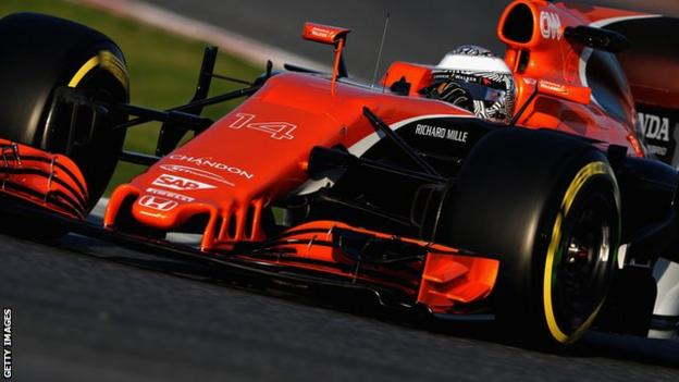 Fernando Alonso had a frustrating day, suffering an oil system problem that cost him the whole morning session after just one lap