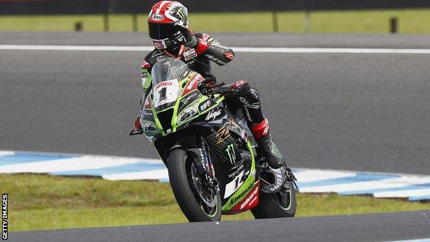 , World Superbikes: Jonathan Rea wins Superpole sprint race at Jerez