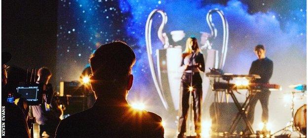 Chelsea fans London Grammar soundtracked BT Sport's closing Champions League montage