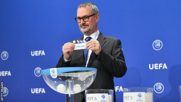 2023 Uefa Avrupa Şampiyonası için eleme kurası İsviçre'nin Nyon kentinde yapıldı.