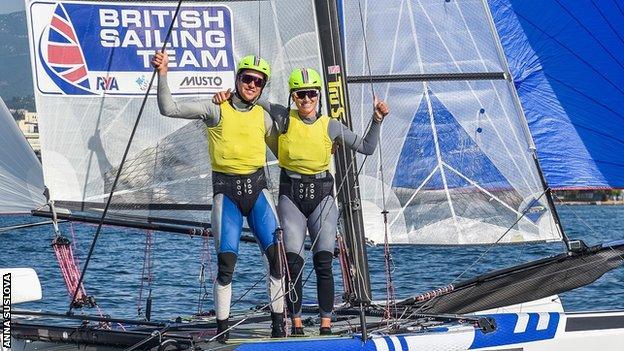 British sailors John Gimson and Anna Burnet