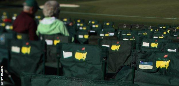 Chairs at the Masters