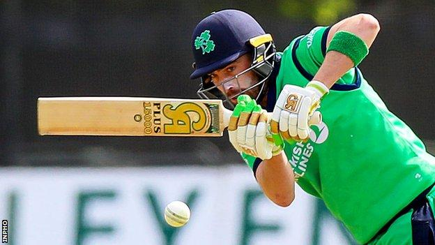 Andrew Balbirnie's availability for the T20 World Cup is determined by Xray results