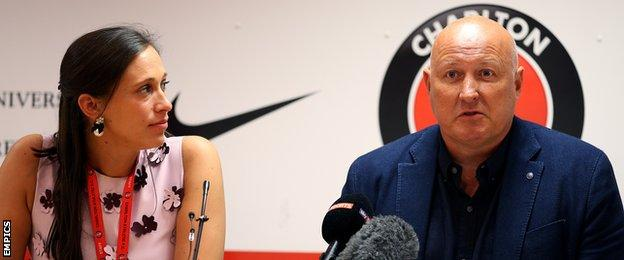 Katrien Meire and Russell Slade
