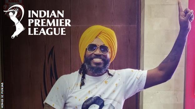 West Indies and Kings XI Punjab batsman Chris Gayle
