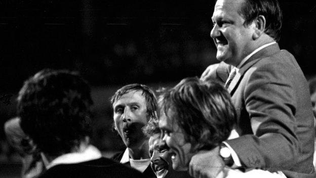 Scotland manager in 1973 Willie Ormond