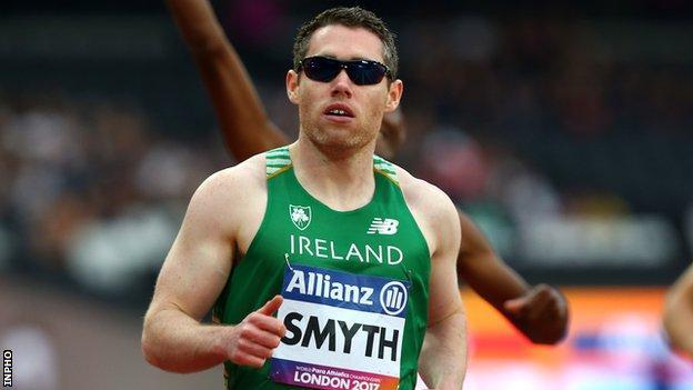 Five-time Paralympic champion Jason Smyth