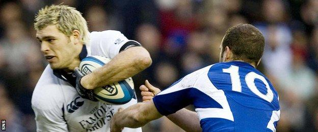 Sean Lamont will have fond memories of his two tries against France in 2006