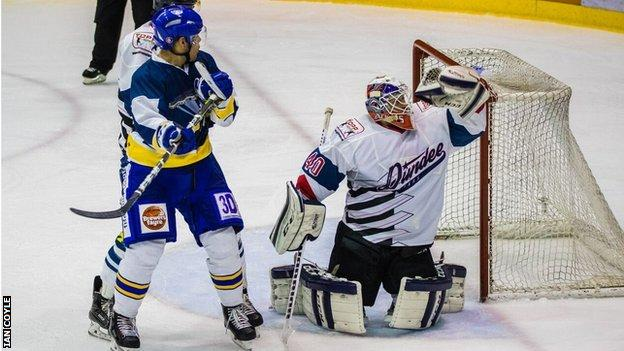 Fife Flyers v Dundee Stars in Scottish Elite Cup