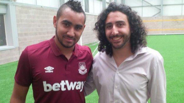 Marc Joss and Dimitri Payet
