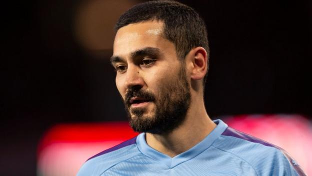 Man City: Ilkay Gundogan says they have to be ready for season to resume thumbnail