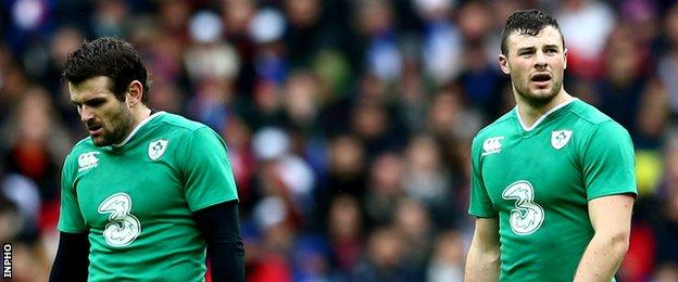 Jared Payne and Robbie Henshaw have formed Ireland's midfield partnership on eight occasions
