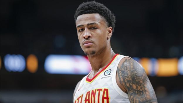 John Collins: Atlanta Hawks forward given 25-game drugs ban thumbnail