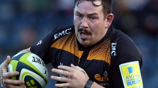 Wasps' former Neath, Ospreys and Worcester hooker Edd Shervington