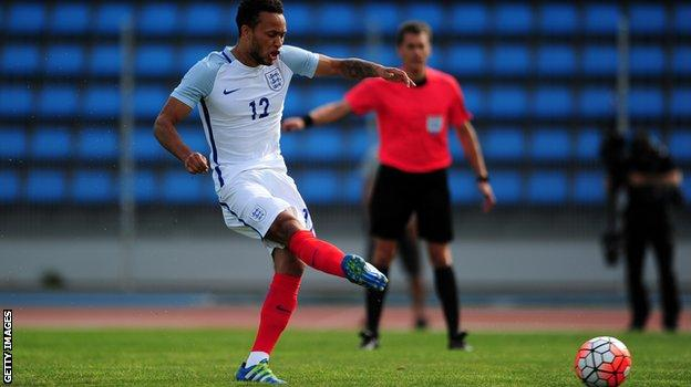 Lewis Baker scores from the penalty spot