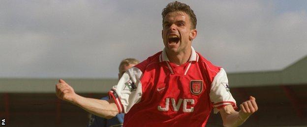 Former Arsenal winger Marc Overmars