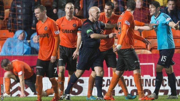Dundee United have lost six of the seven matches Paatelainen has been in charge of