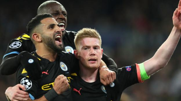 Champions League: Man City could face Juventus or Lyon in quarter-finals