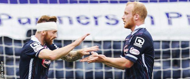 Craig Curran and Liam Boyce have scored seven goals between them this season