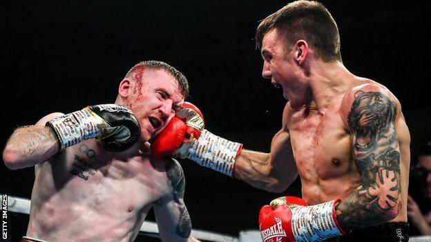 Paddy Barnes lost for the third time in his professional career