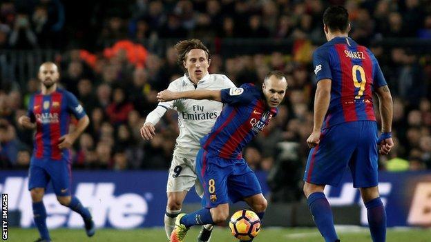 Iniesta and Modric